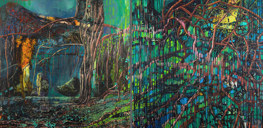 Nightscapes 2 (Diptych)