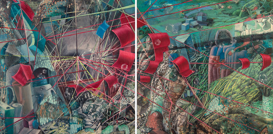 Self Portrait (After Me) (Diptych)