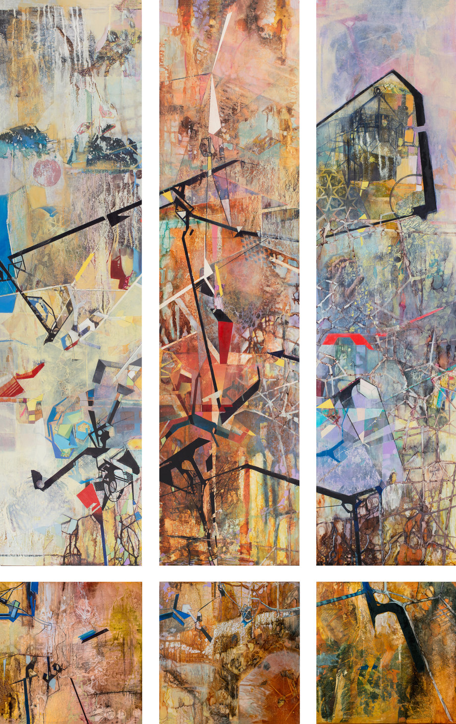 I Was Born! (Factory) (Triptych)