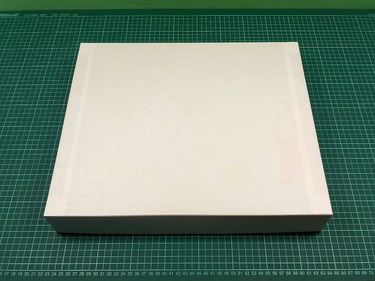 Box 40x34x6cm - hard cardboard