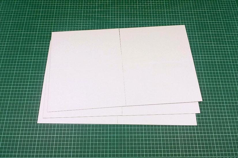 Boards (quad-fold) 46x28cm - PACK: 3