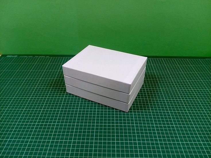Boxes 20x15x3cm - hard cardboard - PACK: 3