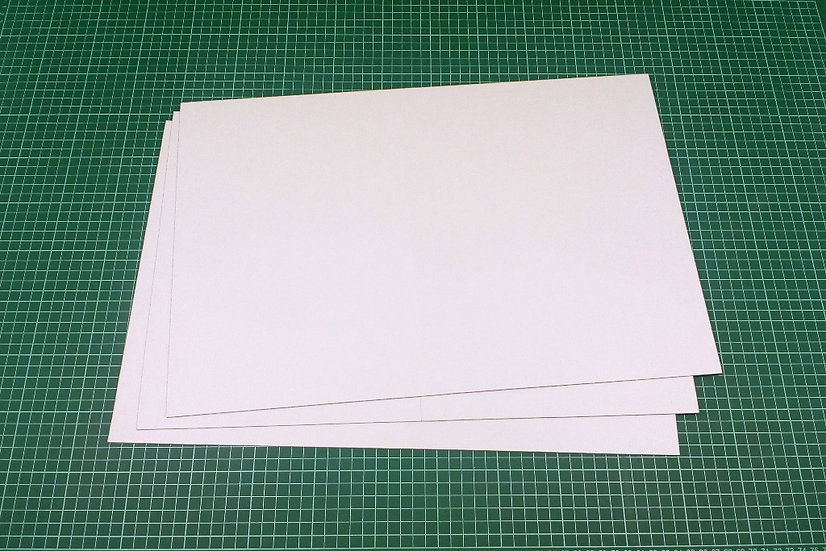 Boards (bi-fold) 47x31,5cm - PACK: 3