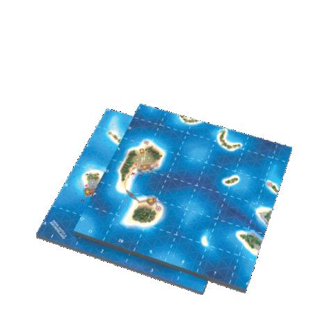 Board tiles from Naval Battle in Archipelago