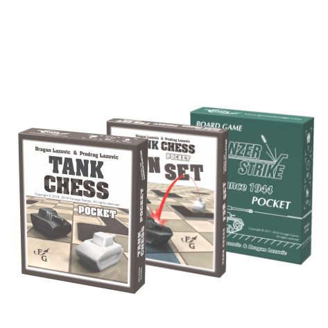 Pocket bundle: Tank Chess + Fun Set + Panzer Strike