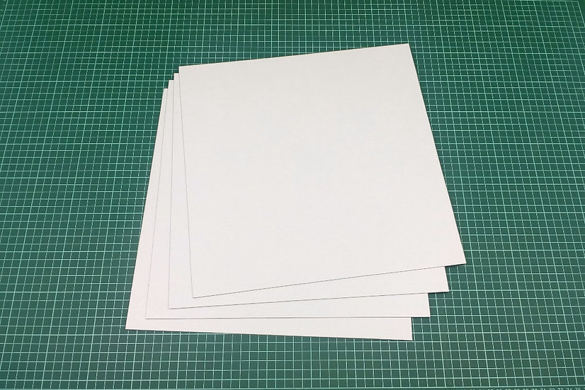 Boards (panels) 33x33cm - PACK: 4