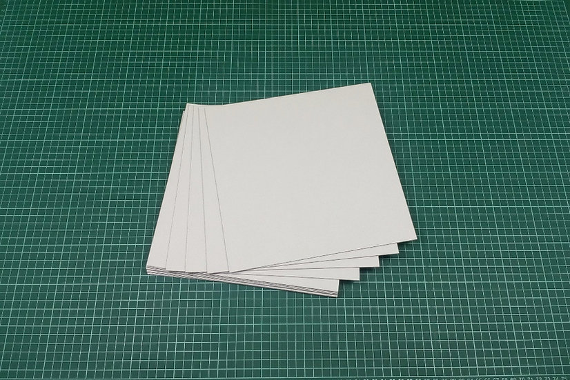 Boards (panels) 23,5x23,5cm - PACK: 12
