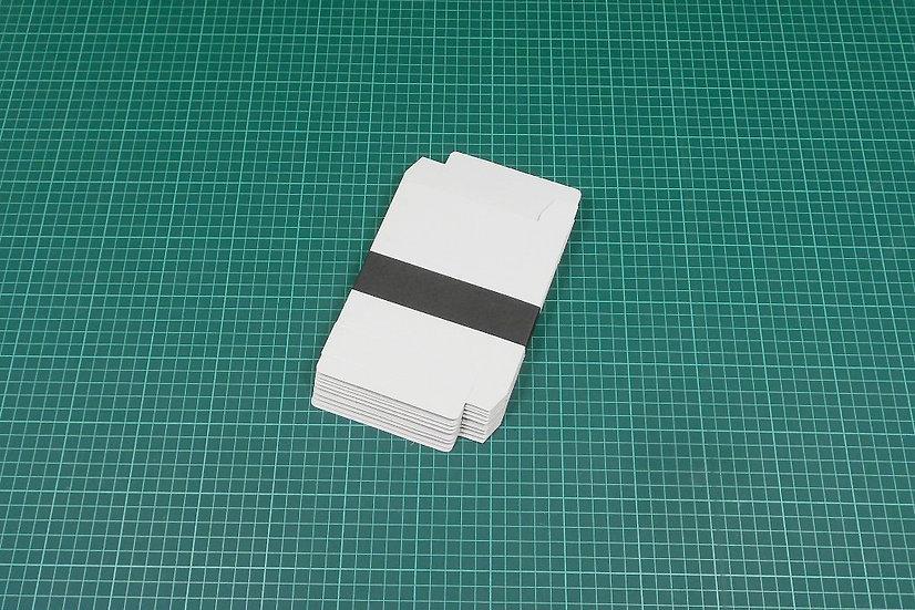 Boxes 13x11x2,5cm - thin cardboard - PACK: 10