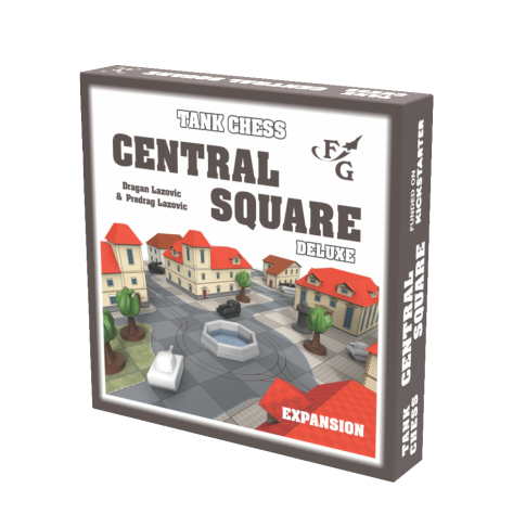 Tank Chess - Deluxe: Central Square expansion
