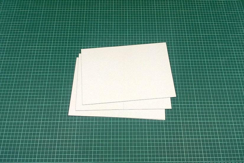 Boards (bi-fold) 28x19cm - PACK: 3