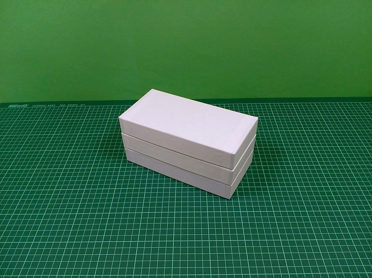 Boxes 20x10x3cm - hard cardboard - PACK: 3