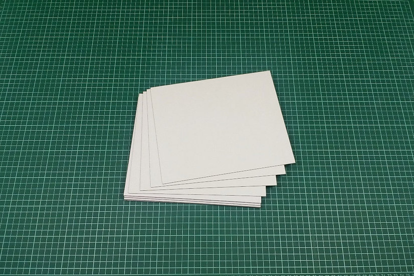Boards (panels) 23x19cm - PACK: 12