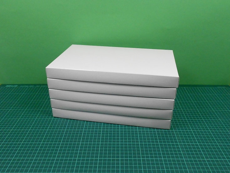 Boxes 34x20x3cm - thin cardboard - PACK: 5