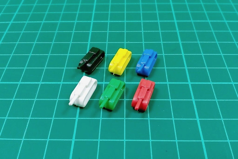 "Tank pieces ""N"" type - PACK: 18"