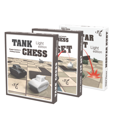 Light bundle: Tank Chess + Fun Set + Mortar Hunt