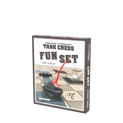 Tank Chess: Fun Set expansion - Light