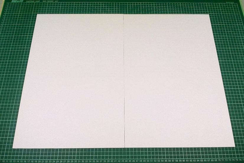 Board (quad-fold) 63x47cm