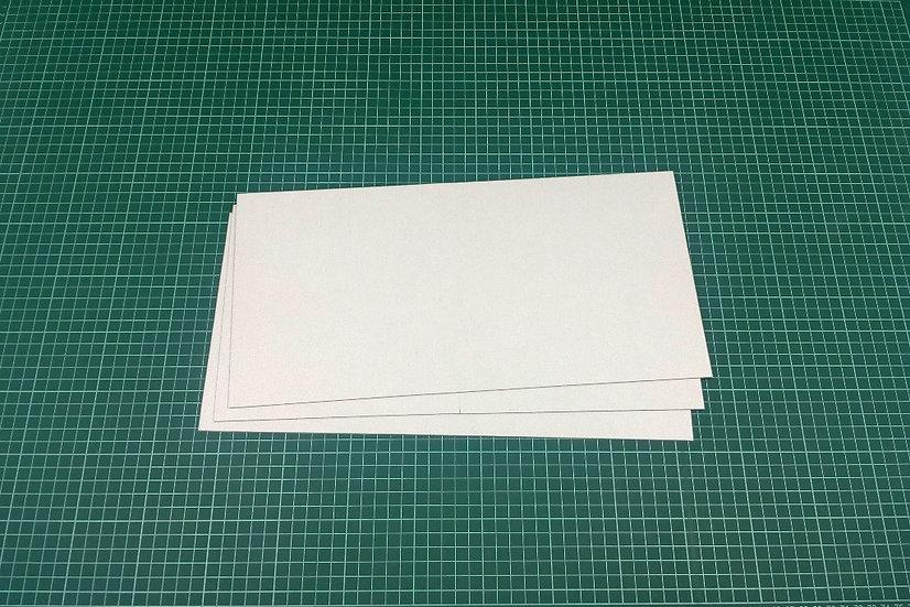 Boards (bi-fold) 38x19cm - PACK: 3