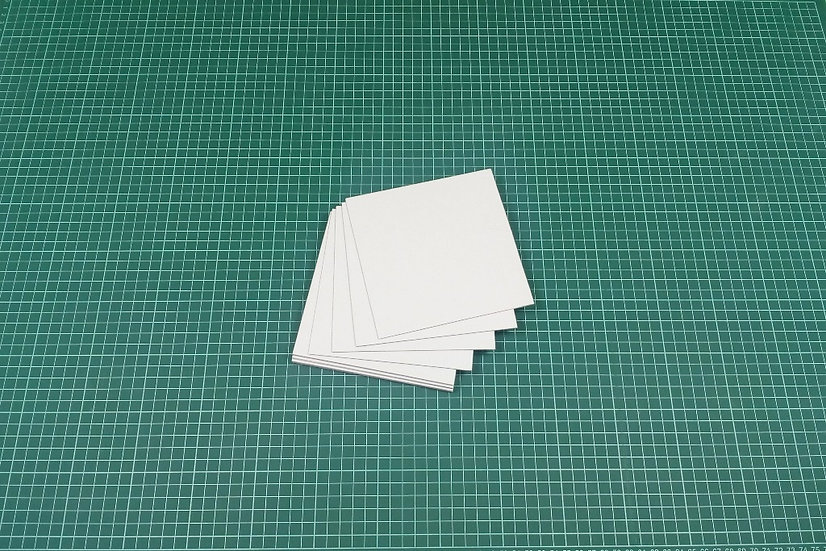 Boards (panels) 14x14cm - PACK: 12