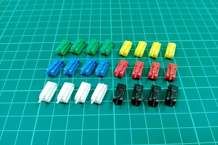 """Tank pieces """"N"""" type - PACK: 60"""