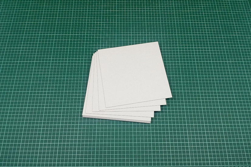Boards (panels) 19x19cm - PACK: 12