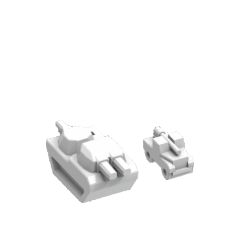 Special pieces (UT & AO) for Tank Chess (standard)