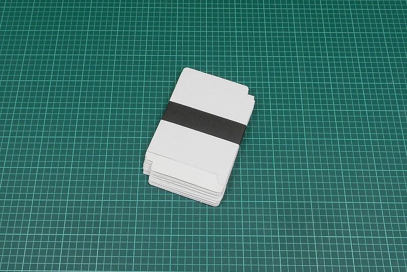 Boxes 13x11x1,4cm - thin cardboard - PACK: 10