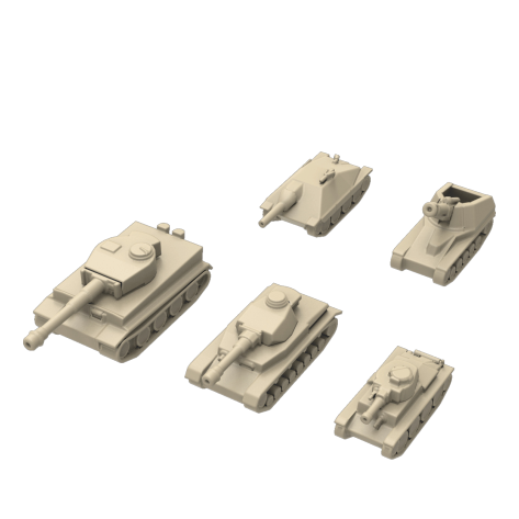 Realistic tanks for Tank Chess - Deluxe
