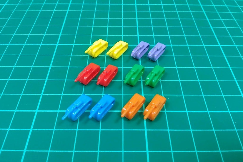 """Tank pieces """"BP"""" type - PACK: 30"""