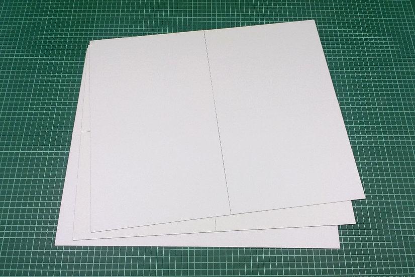 Boards (quad-fold) 46x38cm - PACK: 3