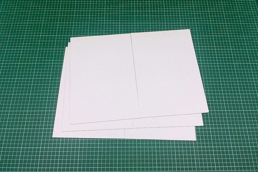 Boards (quad-fold) 38x28cm - PACK: 3