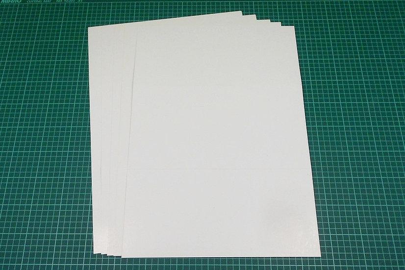 Thin boards (tri-fold) 47x32cm - PACK: 5