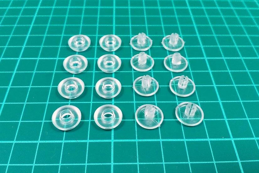 Plastic rivets - PACK: 30
