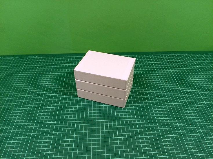 Boxes 13,5x10x3cm - hard cardboard - PACK: 3