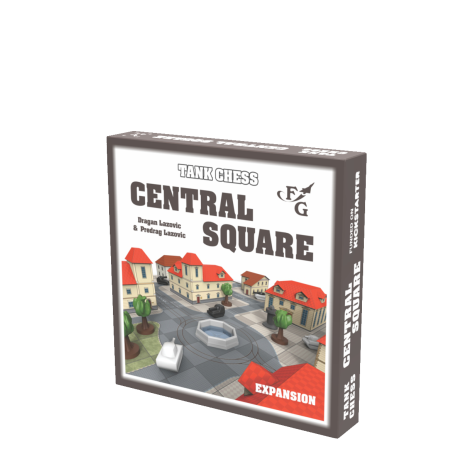 Tank Chess: Central Square expansion (standard)