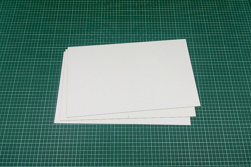 Boards (bi-fold) 38x23cm - PACK: 3