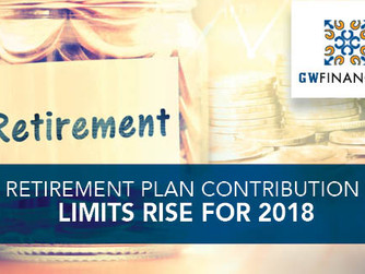 Retirement Plan Contribution Limits Rise for 2018