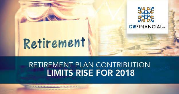 Retirement Plan Contribution Limits Rise for 2018