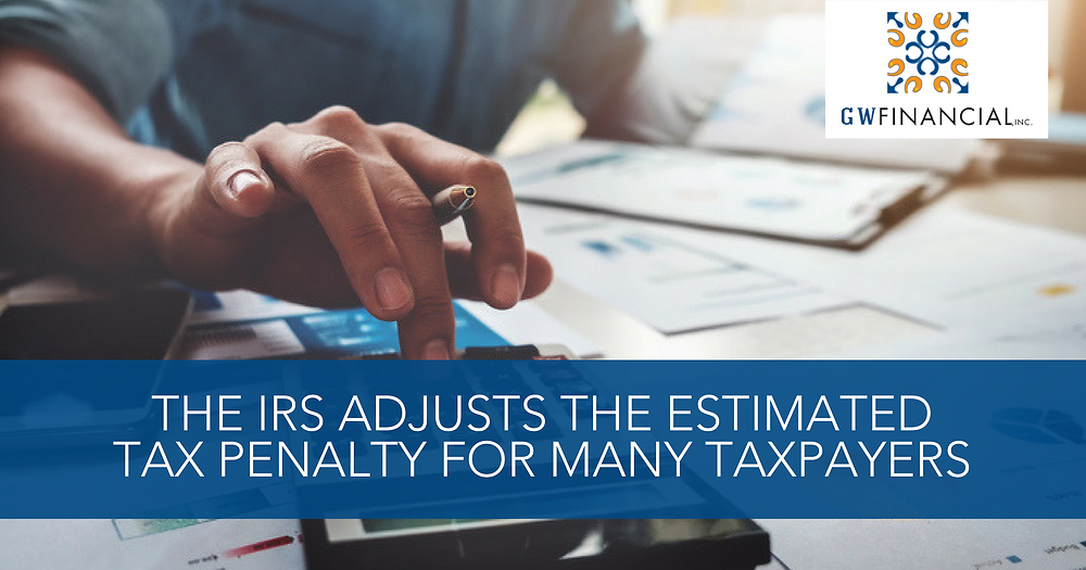 IRS Adjusts Penalty