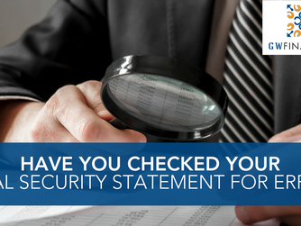 Have You Checked Your Social Security Statement for Errors?