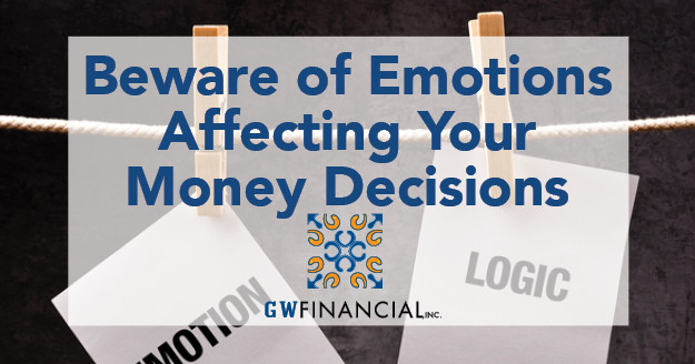 When emotions and money intersect, the effects can be financially injurious. Emotions can cause us to overreact – or not act at all.