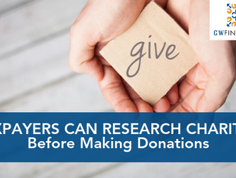 Tool on IRS.gov Helps Taxpayers Research Charities Before Making Donations