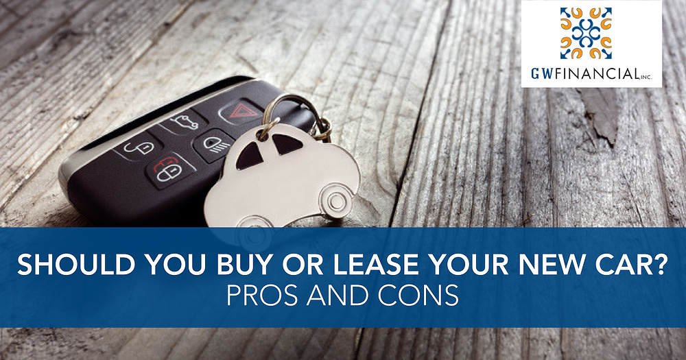 Vehicle purchase vs lease