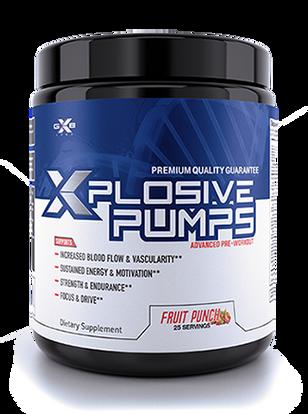XZEN Labs Xplosive Pumps Advanced Pre Workout Bottle