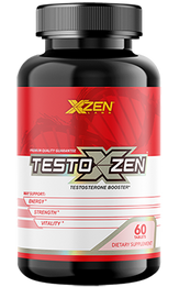 XZEN Labs Testosterone Booster Bottle