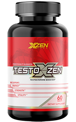 XZEN Labs TestoXzen Testosterone Booster Bottle