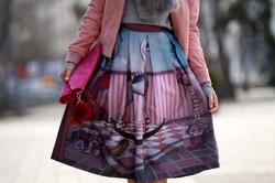 Surreal skirt