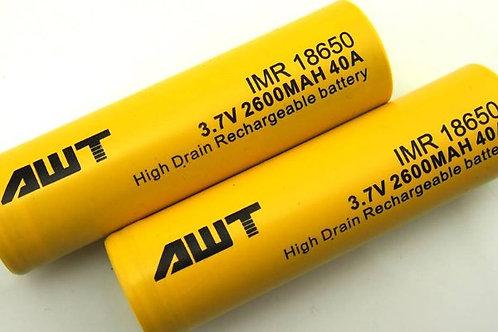 Аккумулятор 18650 - AWT 2600мАч