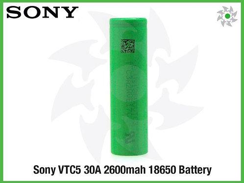 Аккумулятор 18650 Sony VTC5 2600mAh 30А