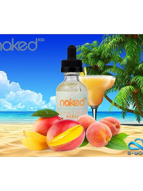 Жидкость NAKED 100 Amazing Mango - 60мл 3мг - Оригинал, США.
